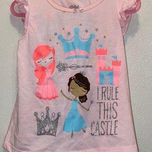 I rule this castle pajama set